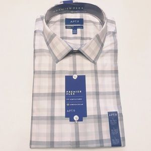 Apt. 9 Slim Fit Premier Flex Stretch Dress Shirt